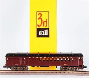 SUNSET 3RD RAIL BRASS P54 COMMUTER COMBINE CAR PRR