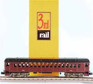 SUNSET 3RD RAIL P54 BRASS PRR COMMUTER CAR #434