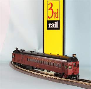SUNSET 3RD RAIL BRASS PRR GAS ELECTRIC #4666 ENGINE