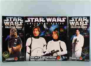 (2) SEALED IN BOX STAR WARS COLLECTOR SERIES FIGURES