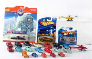 ASSORTED CARS, VEHICLES, ETC. (24) for TRAIN GARDEN,