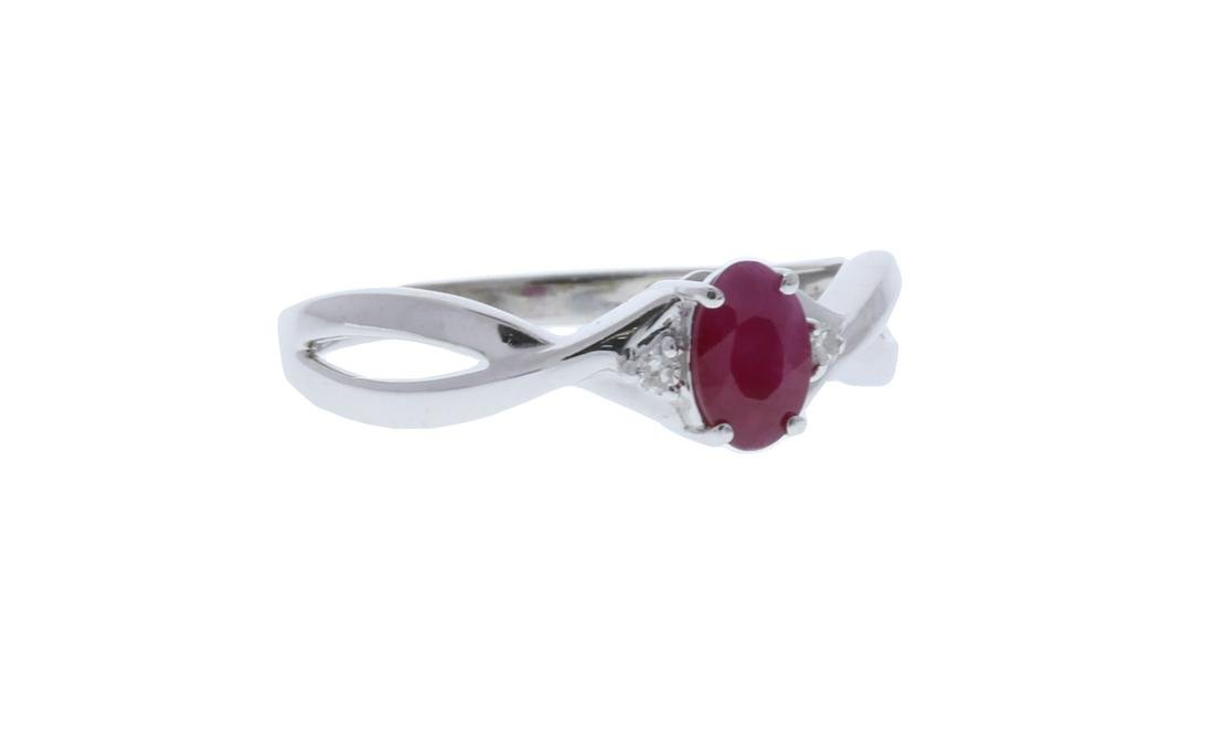 Ruby/Diamond Ring - 2