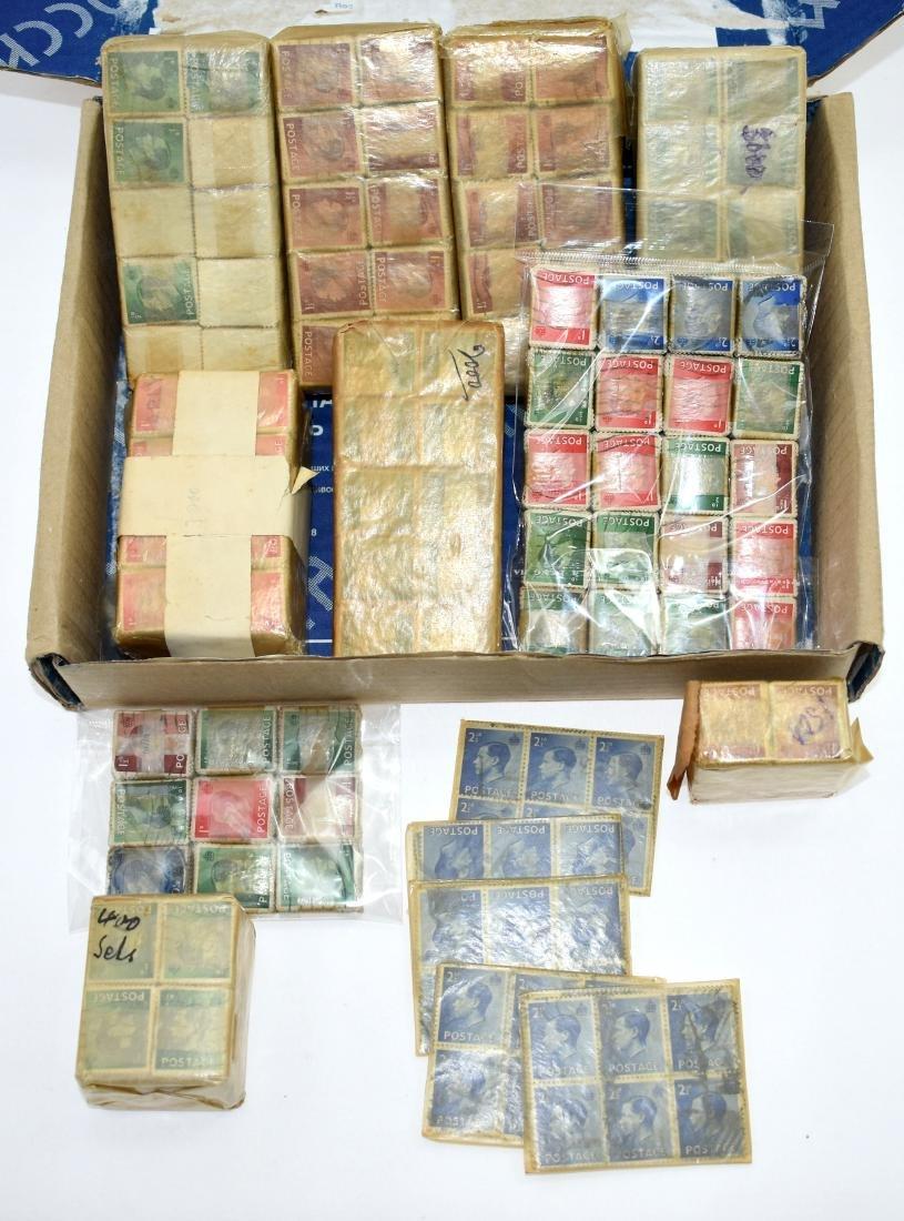 12000$.   British stamps 1936 King Edward VIII, packs