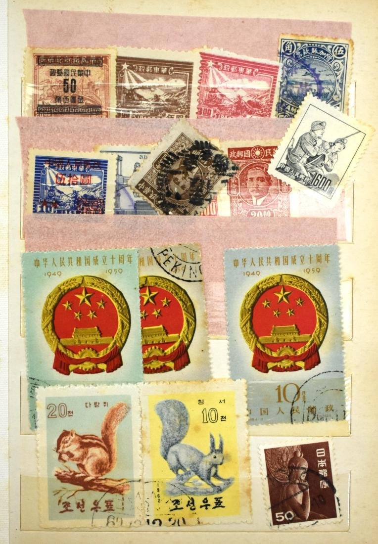 2stamp albums of stamps from all over the world - 3