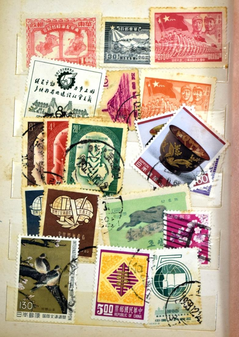2stamp albums of stamps from all over the world - 5