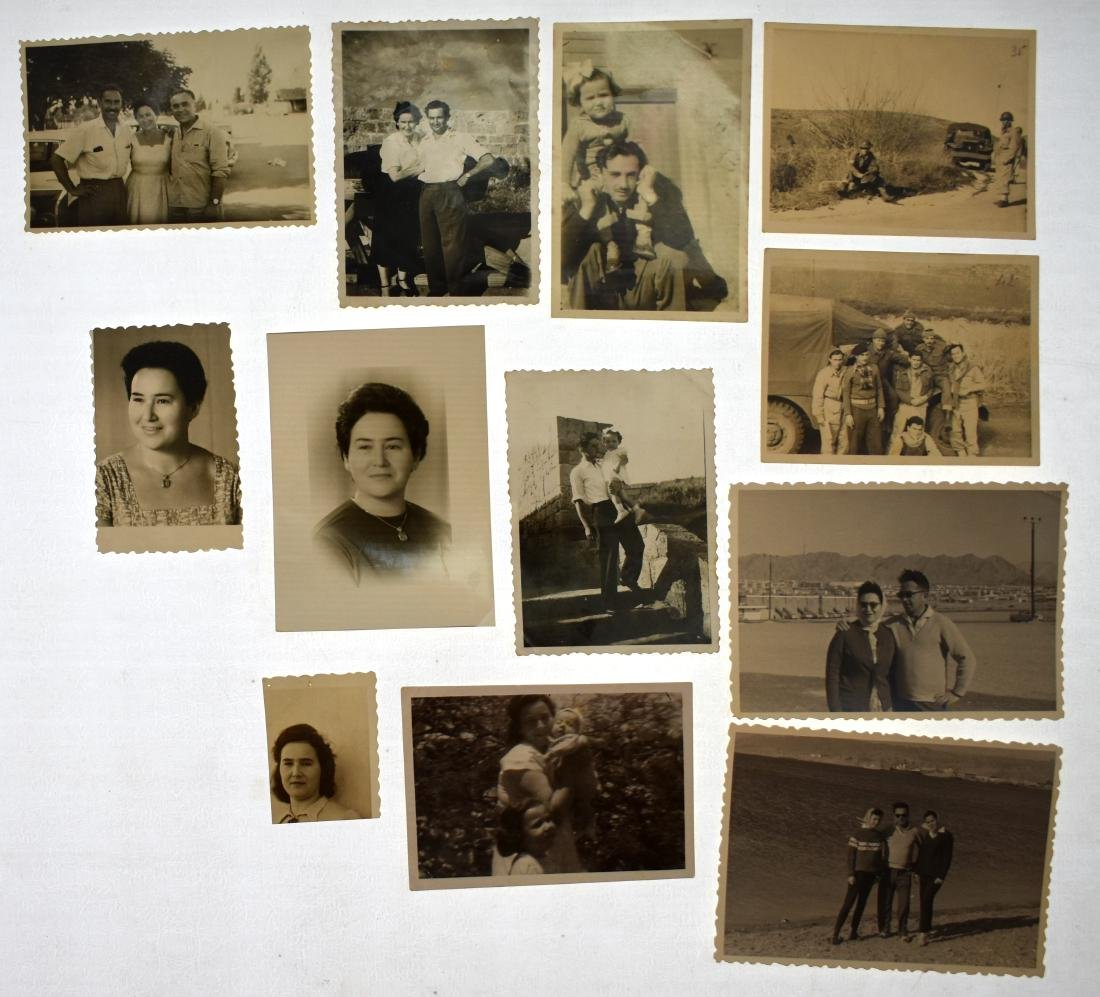 Collection of photographs of the photographer  Colonel