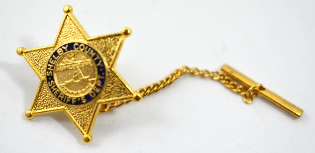 American clip, sheriff badge, 2.5 cm.