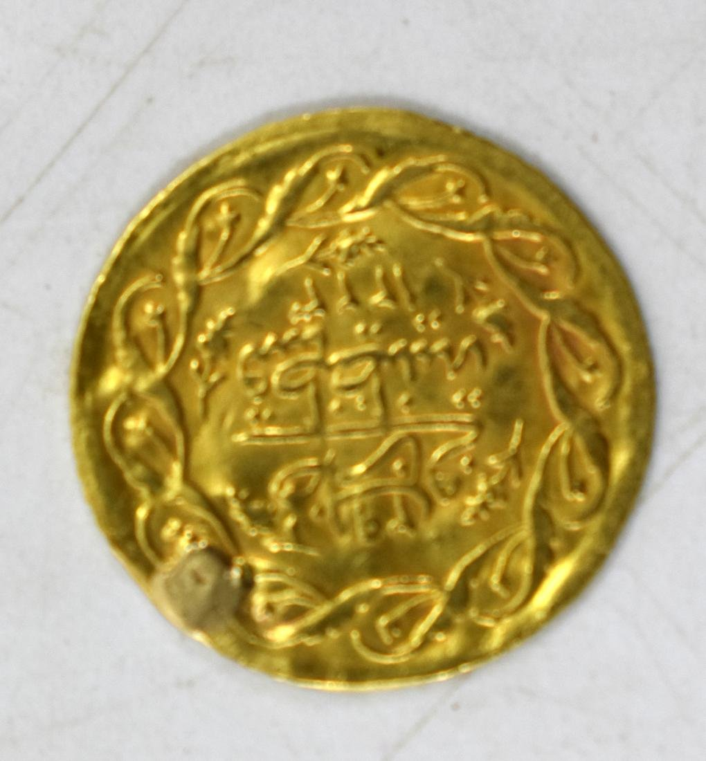 22k Islamic gold coin from the 18-19 century, weight