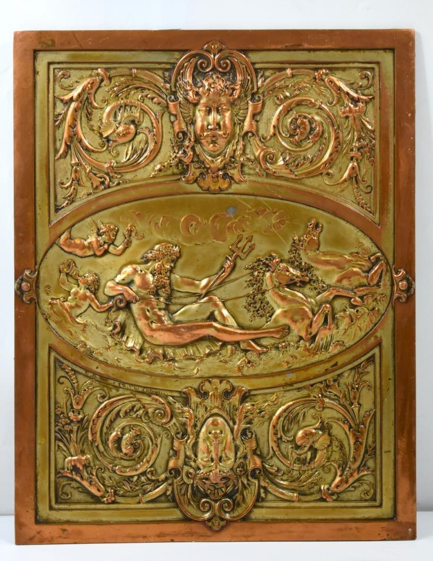Mythological plaque 21*27