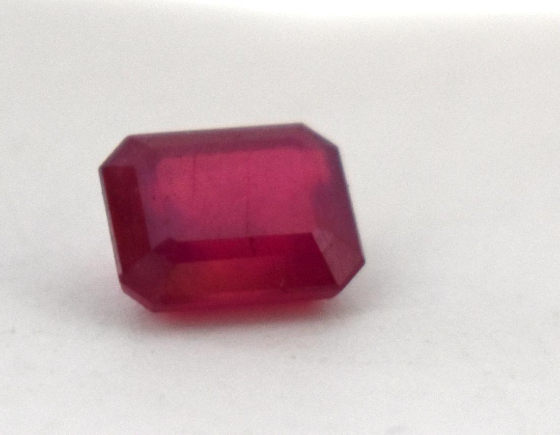 Ruby, clean gemstone