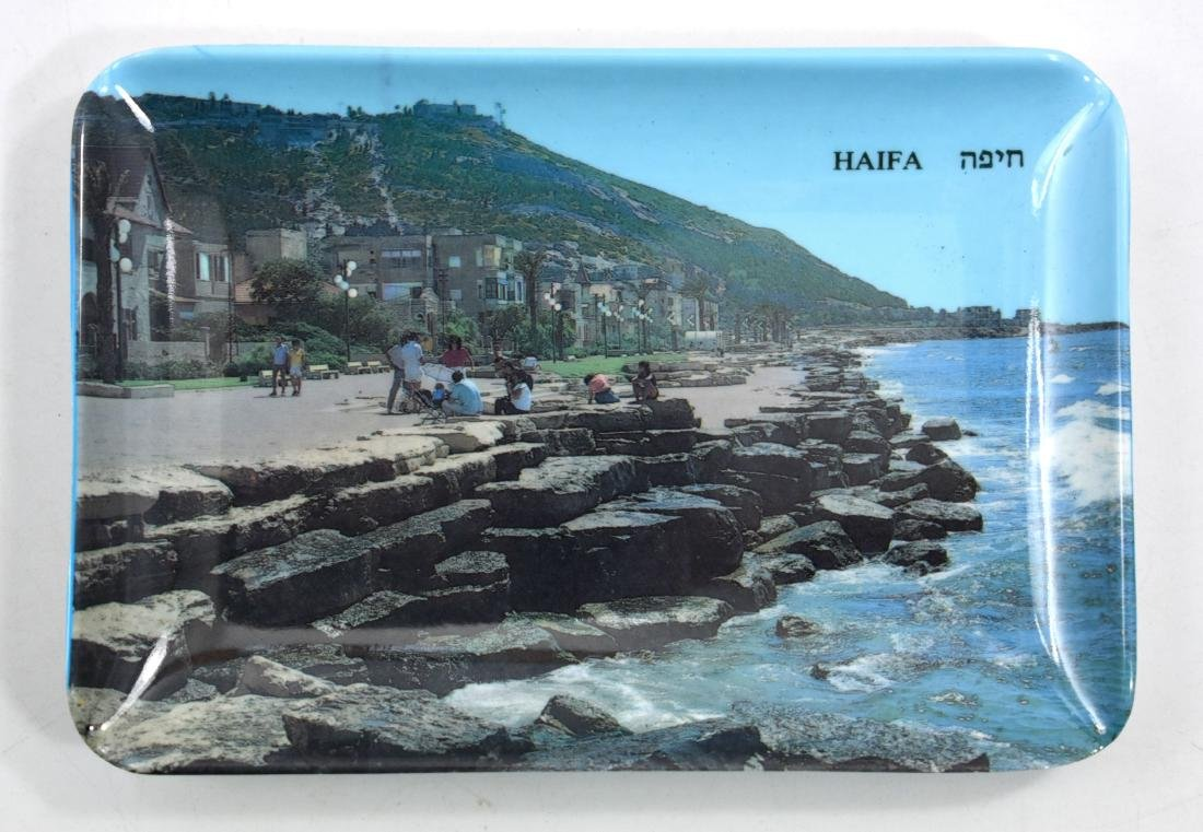 Bakelite ashtry, Eretz Israel, Haifa