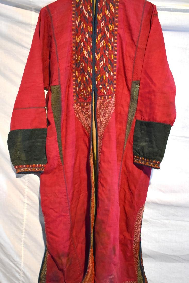 Bucharian coat, handmade, old.