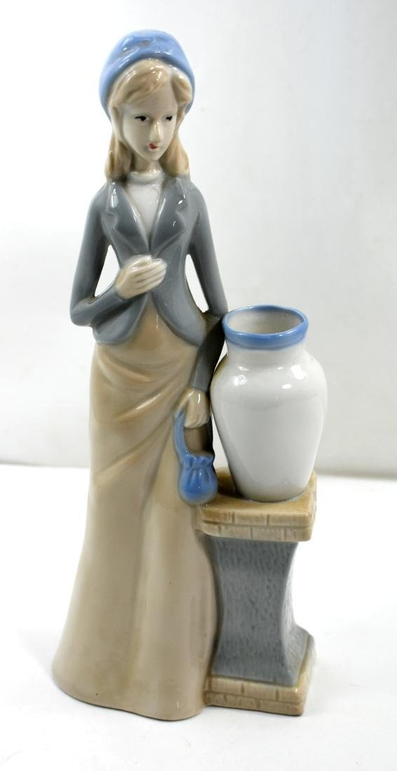 Porcelain figurine  of a woman, European
