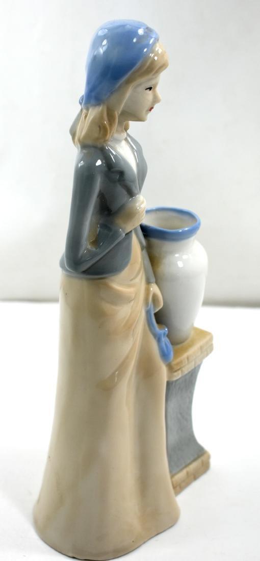 Porcelain figurine  of a woman, European - 2