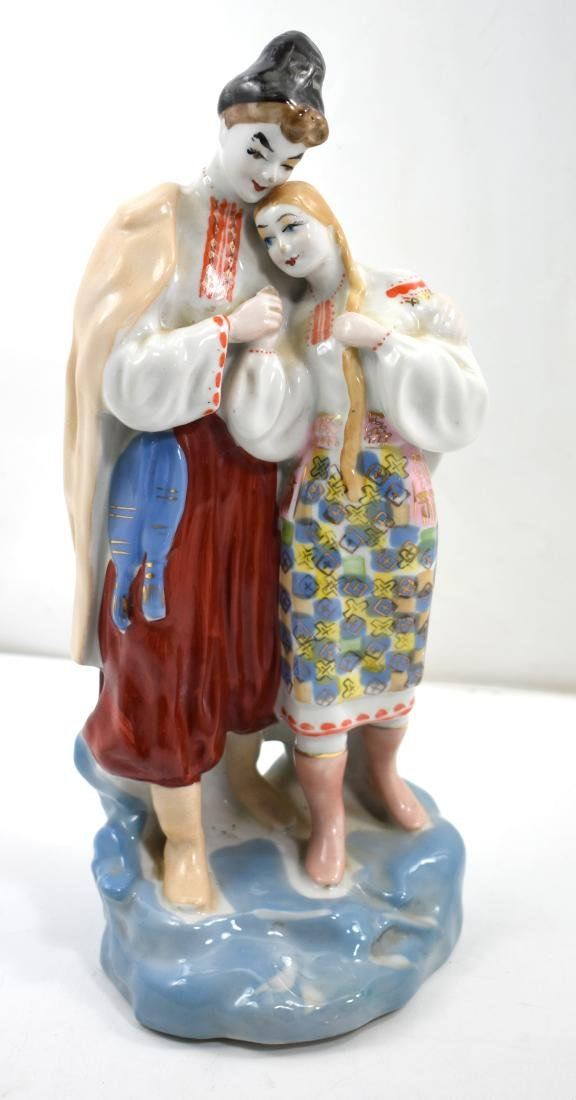 Porcelain figurine  European pair