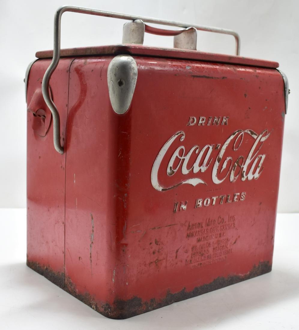 Coca Cola picnic cooler 1947