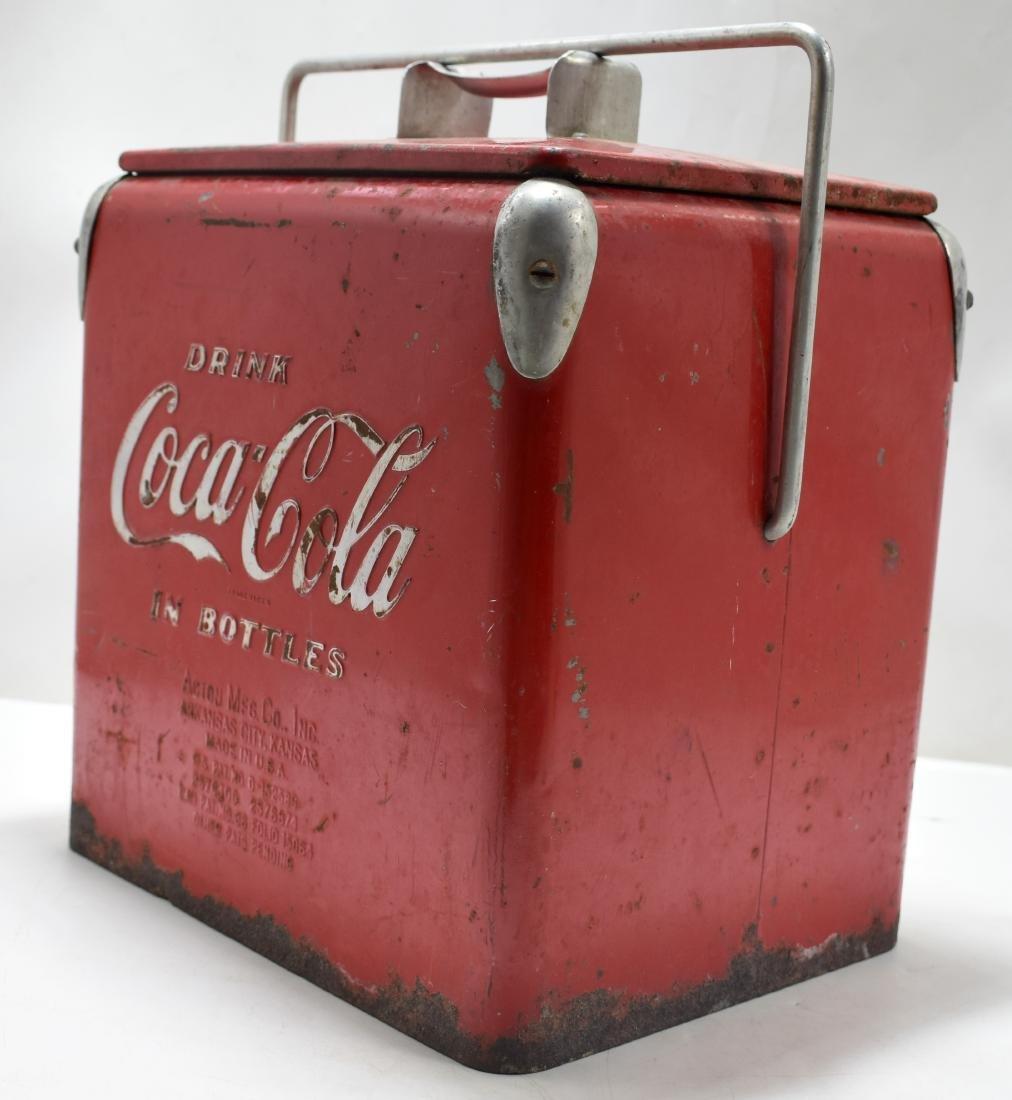 Coca Cola picnic cooler 1947 - 2