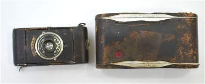Pair of old cameras. 1. Aktos, rare, beginning of 1900,