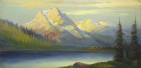 "1: HARRY L. LOPP ""Many Glacier"" Glacier Park"