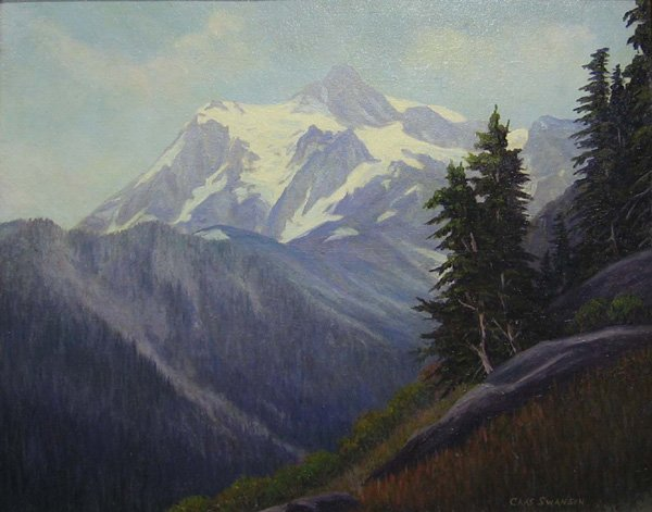 "3: CHARLES SWANSON ""MT. Shuksan"" Washington"