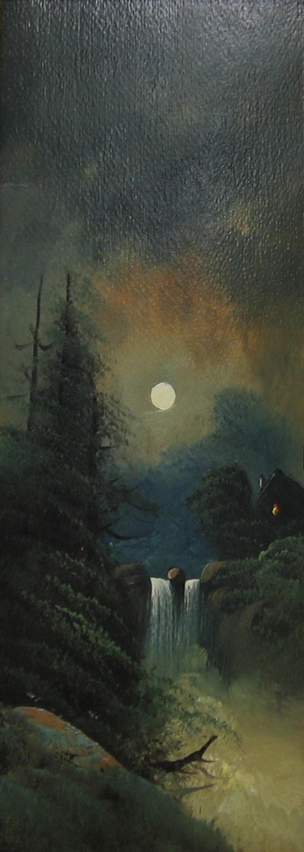"5: ROBERT W. WOOD ""Moonlit Landscape"""