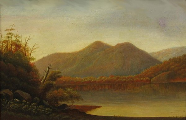 "19: HUDSON RIVER SCHOOL ""Schroon Lake, N.Y."