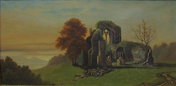 "20: LOUIS ROTHMAN ""Ruins"" 1893"