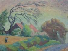 "113: CHARLES E. REYNOLDS ""View of Skyline Drive"""