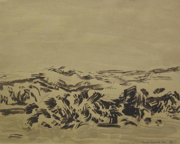 """120: MANUEL IZQUIERDO """"Manzanita"""" Oregon 1961"""
