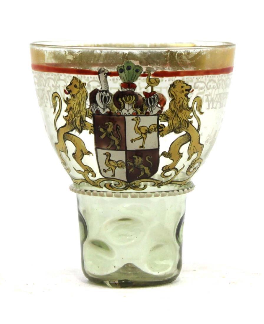 Enamel Glass Drinking Cup