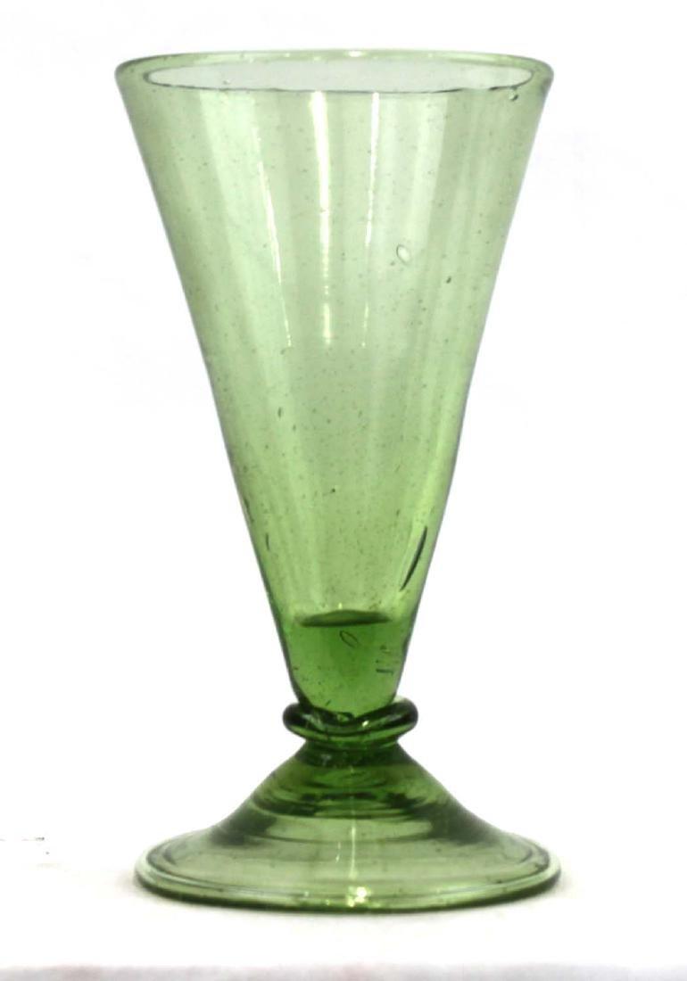 Spanish Facon de Venise Wine Glass  Glassmakers of
