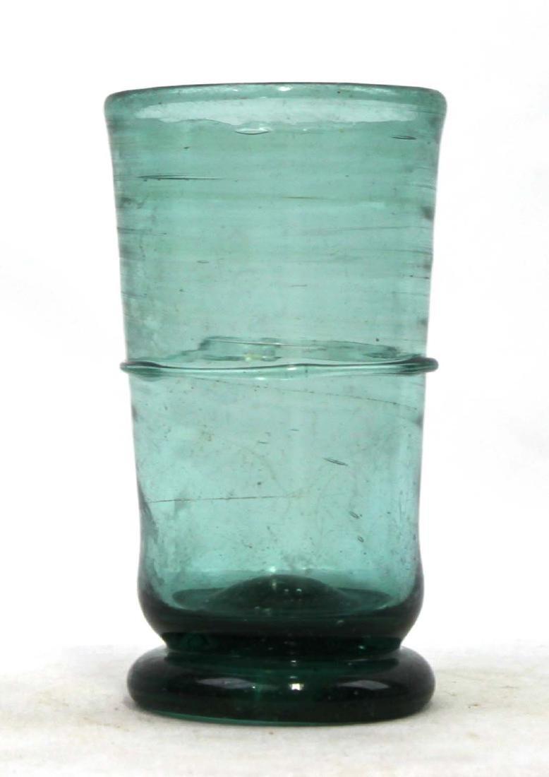 Probably 17 Century Spanish Glass Bottle