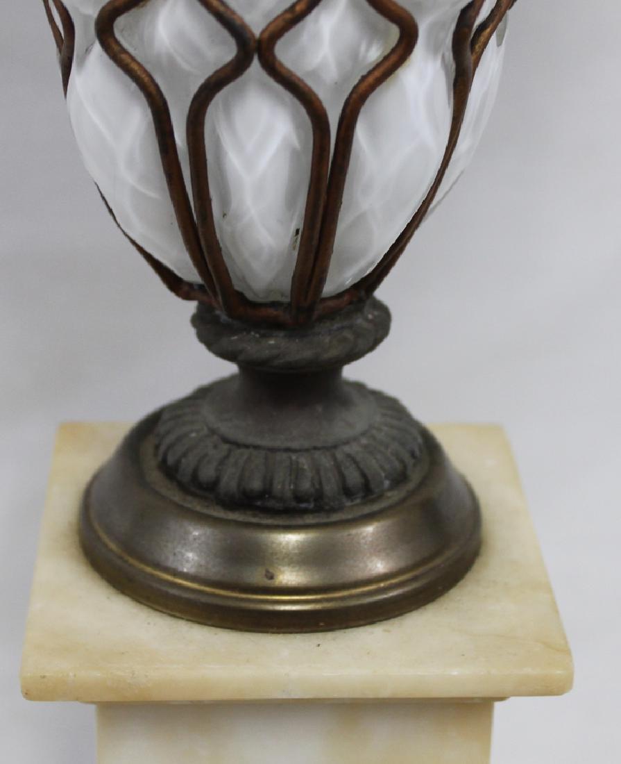 Italian Murano Mid Century Glass Lamp Base. - 3