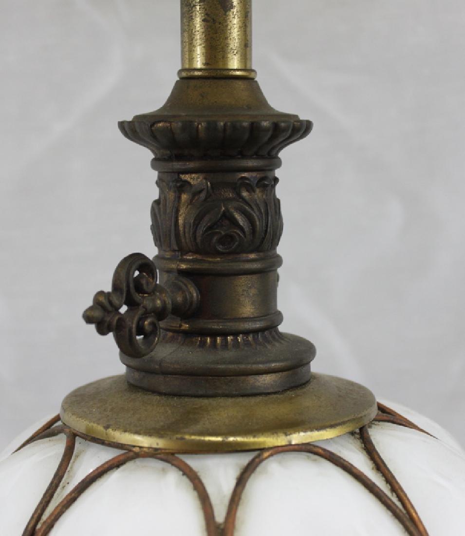 Italian Murano Mid Century Glass Lamp Base. - 6