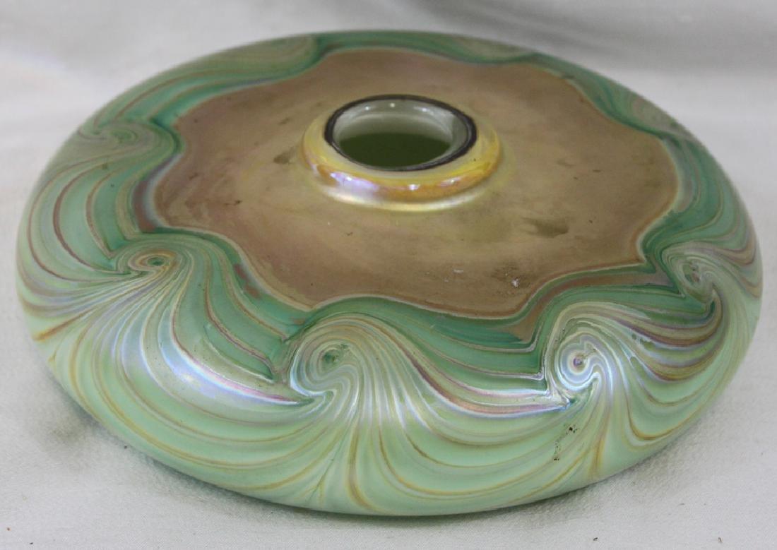 Tiffany Style Glass Vase