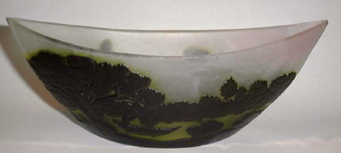 French Art Nouveau Galle Bowl