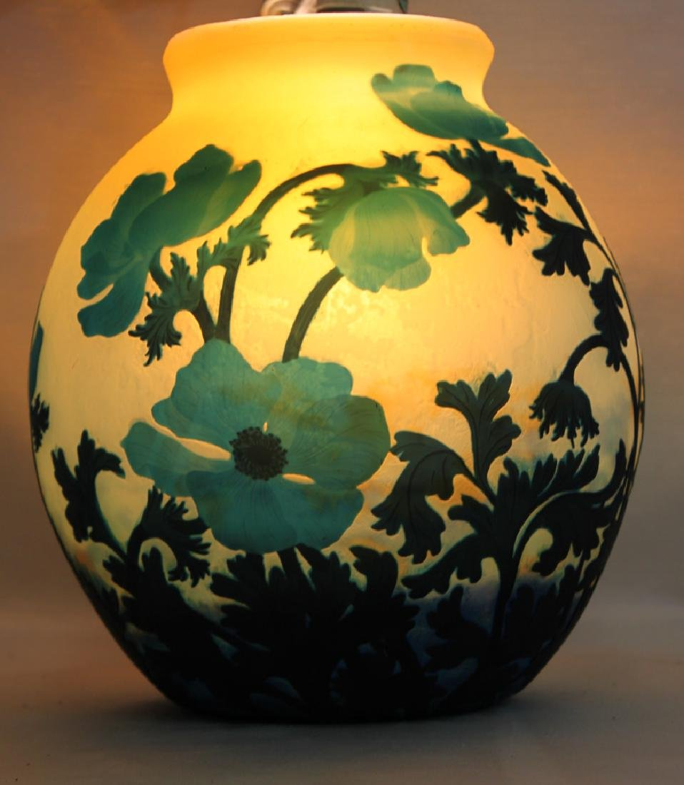 A CAMEO GLASS VASE BY MULLER FRÈRES - 2