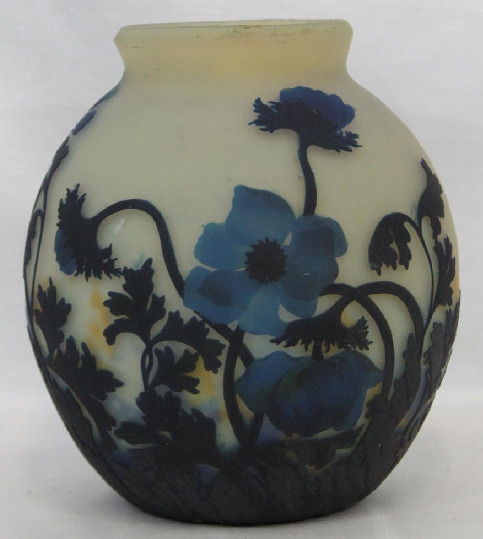 A CAMEO GLASS VASE BY MULLER FRÈRES - 3