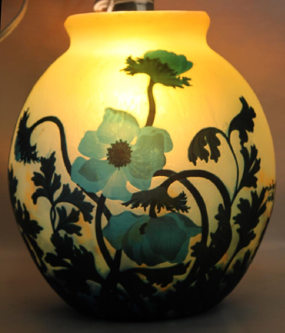 A CAMEO GLASS VASE BY MULLER FRÈRES - 5