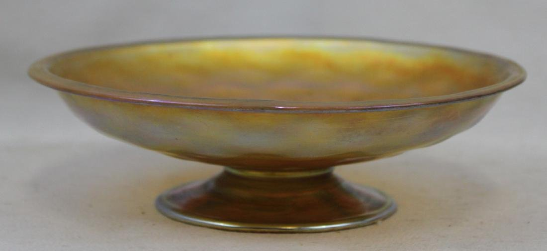 Tiffany Favrile Compote In Perfect Condition