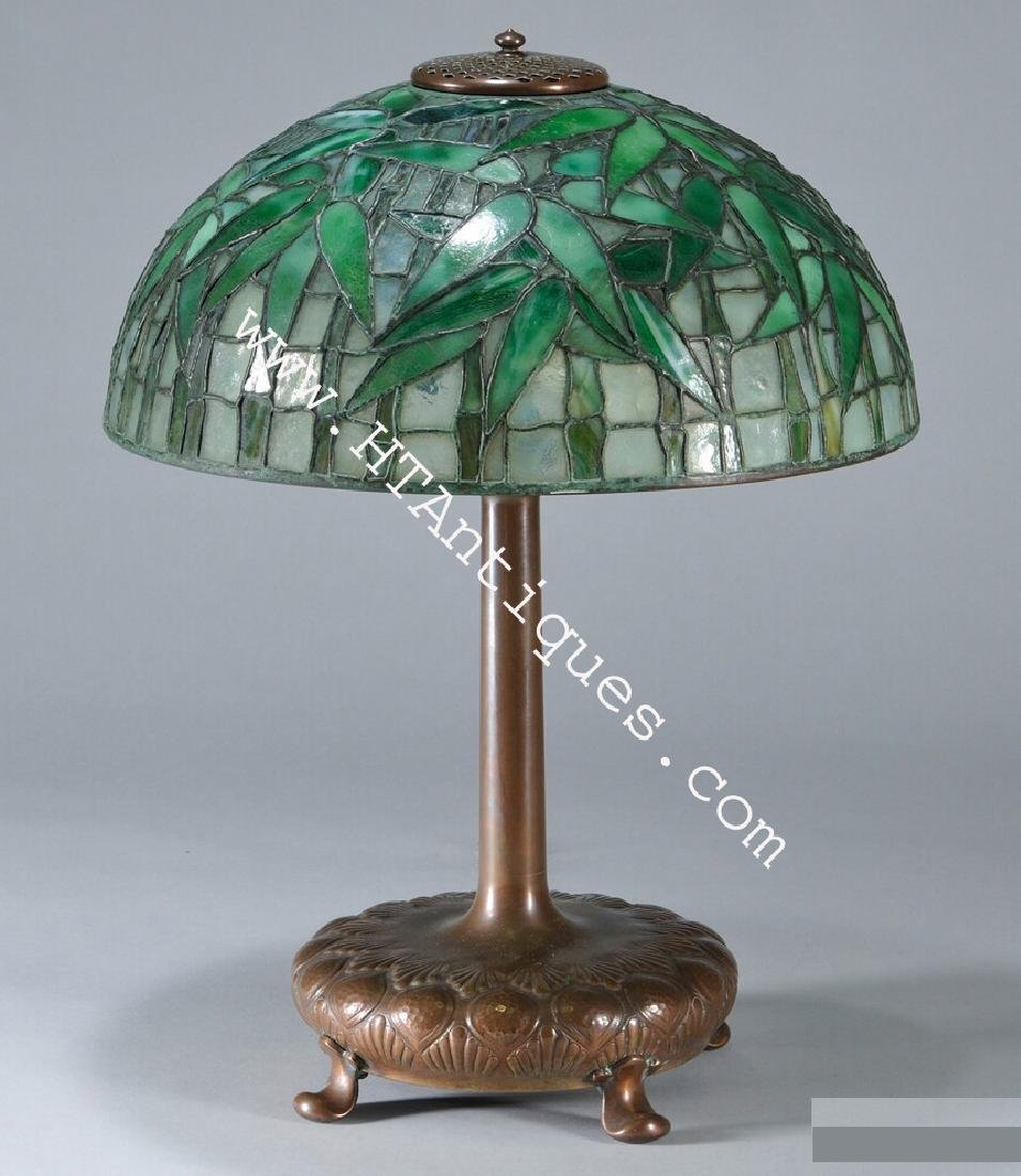 Tiffany Studios Bamboo Table Lamp