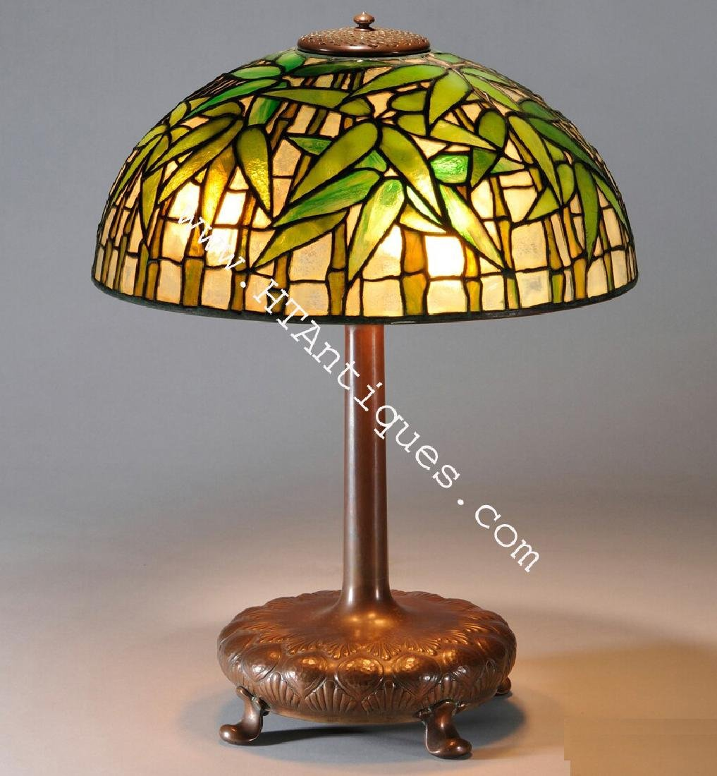 Tiffany Studios Bamboo Table Lamp - 2