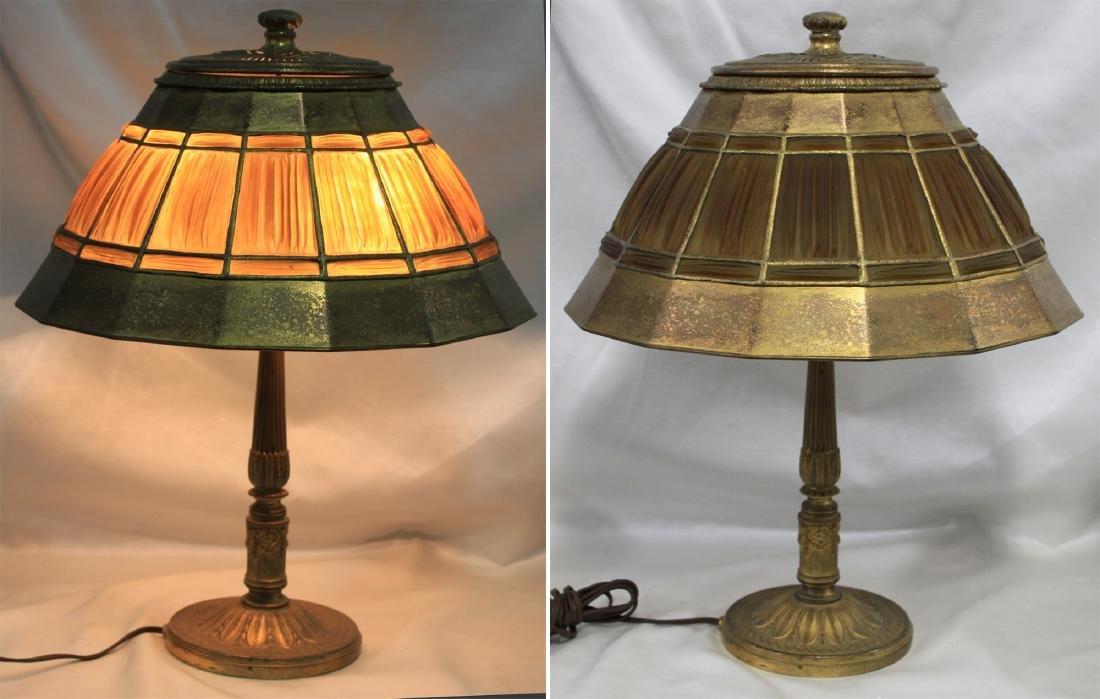 Tiffany Studios Adams Pattern Desk Lamp Base with