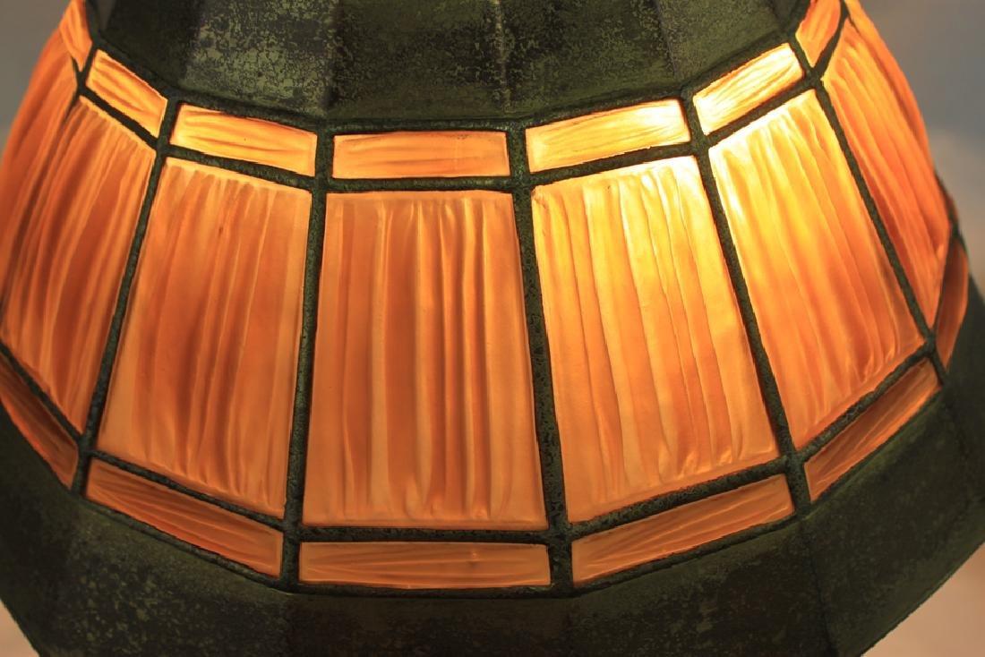 Tiffany Studios Adams Pattern Desk Lamp Base with - 4