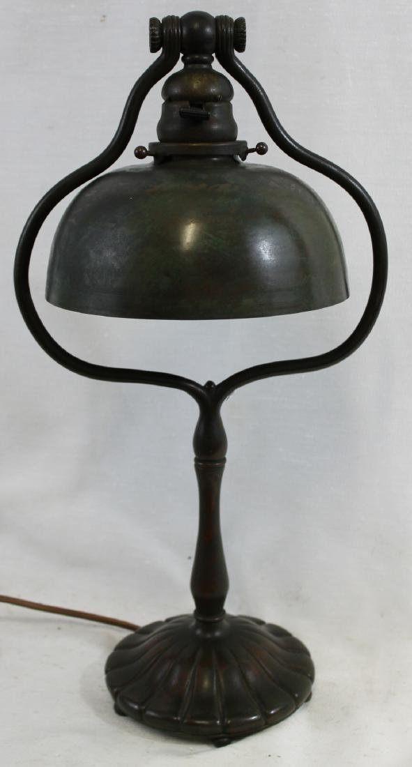 Tiffany Studios Tall Harp Desk Lamp