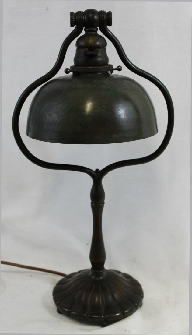 Tiffany Studios Tall Harp Desk Lamp - 2