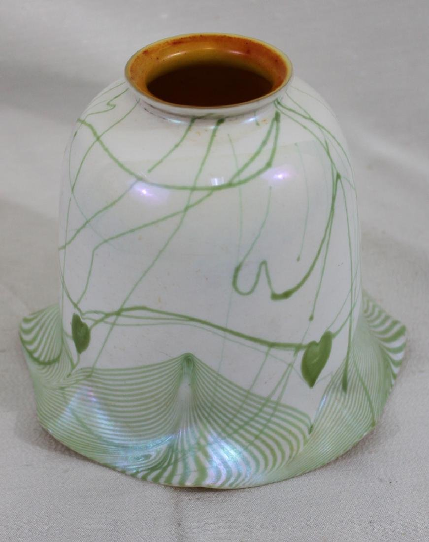 Tiffany Favrile Glass Decorated Lamp Shade