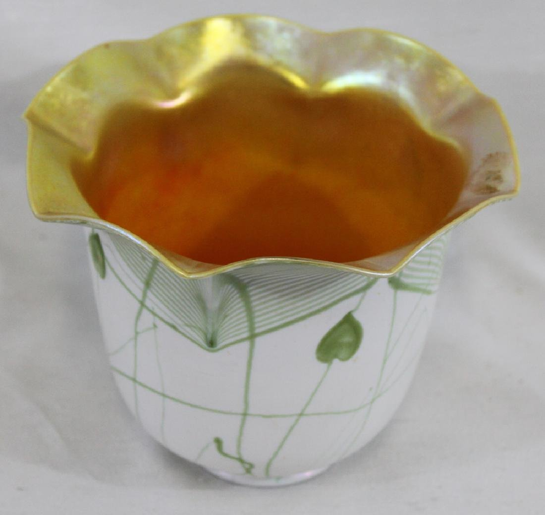 Tiffany Favrile Glass Decorated Lamp Shade - 3