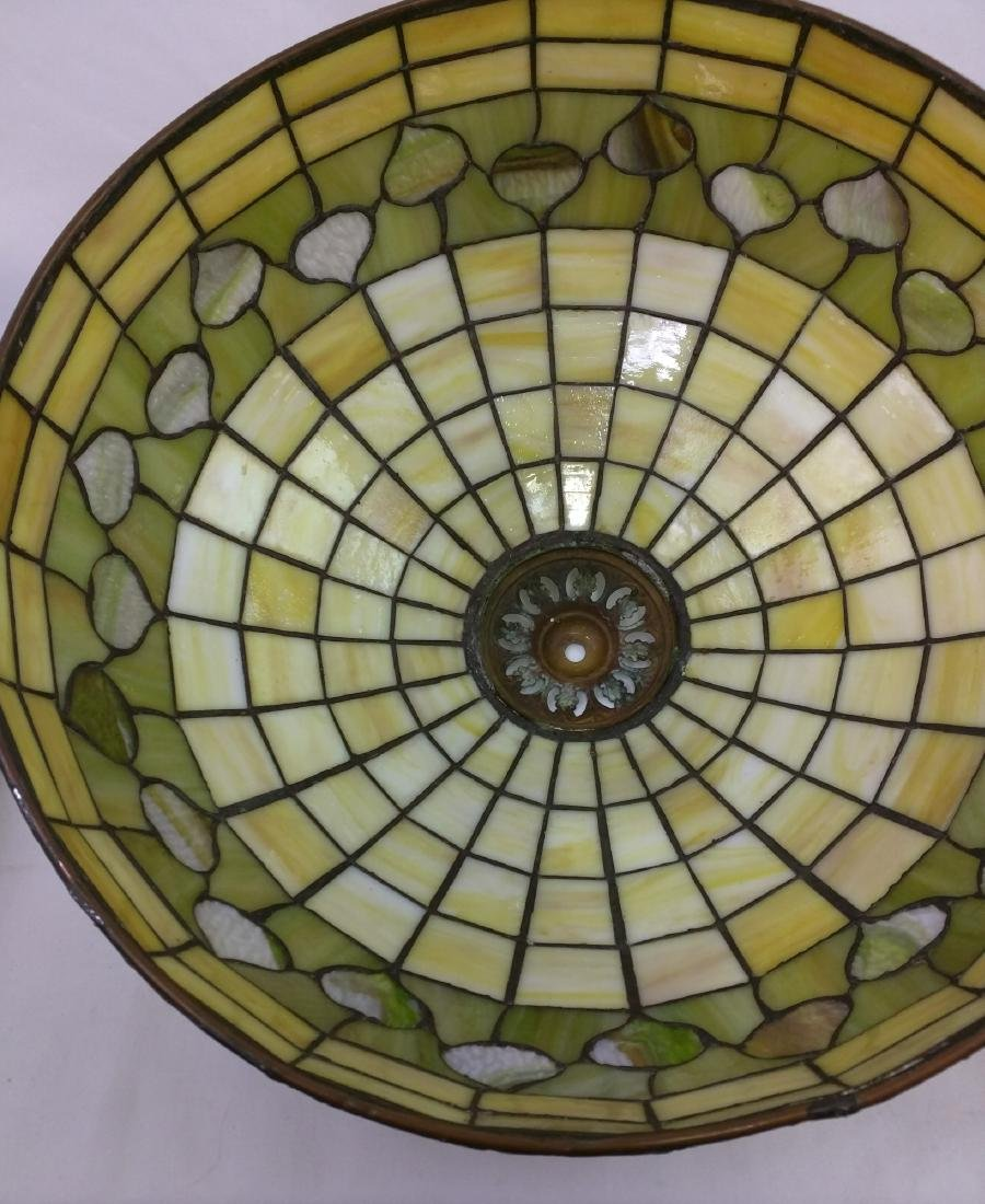 American Stained Glass Lamp and Base - 7
