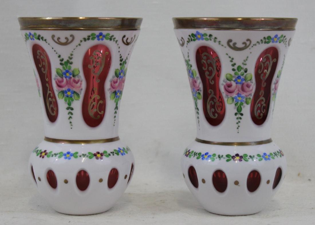 Bohemia Glass Vintage Goblets Cup (Vase)